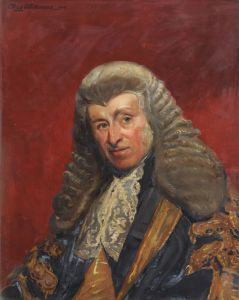 Portrait of Lord Cranworth (College Collection)