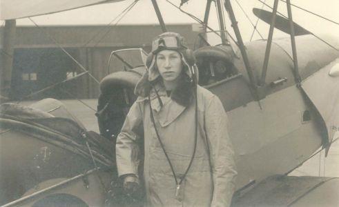 Harry in training at Elmdon aerodome, Aug. 1940 (DCPP/DOO/1/4)