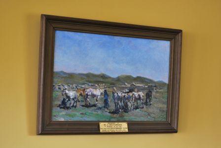'Mongolian Ponies' by Willem Dooyewaard