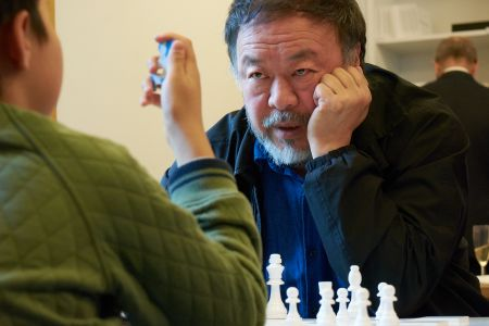 Ai Wei Wei visits The Heong Gallery