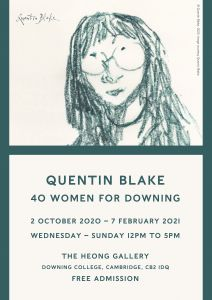 Quentin Blake: 40 Women for Downing poster