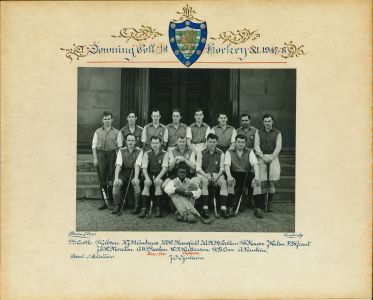 1947/8 Downing College Hockey Team, including Joseph Ojukwu (1945)