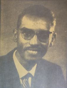 Mahgoub Obeid Taha, Research Fellow in Physics, elected 1966.