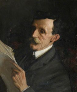 Portrait of Frederic William Maitland, Professor of Law (1850-1906) by Beatrice Lock (1880-1913) The Master, Fellows, and Scholars of Downing College in the University of Cambridge