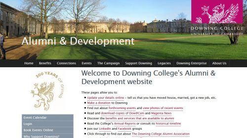 Downing College Alumni Assocation for Postgraduates