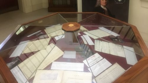 Archive exhibition marks 300th anniversary