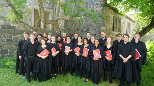 Downing Chapel Choir tour to Canada and the US