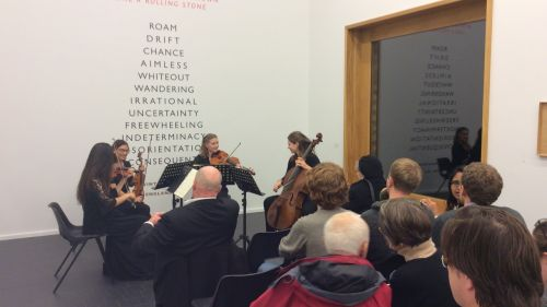 The Duke Quartet mesmerises 'after dark' audience