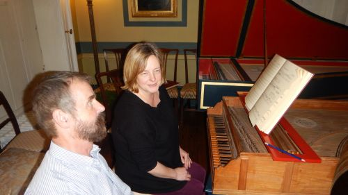 Rare Fitzwilliam Museum harpsichord played at Downing