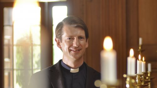 Our Chaplain, the Revd Dr Keith Eyeons