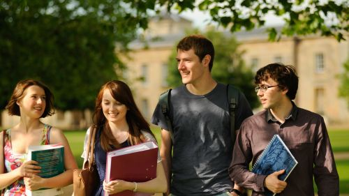 Affiliated students (graduates taking a Cambridge BA)