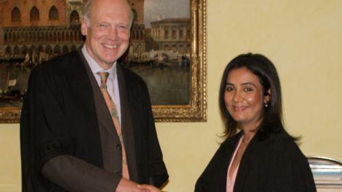 Downing welcomes Dr Priyanka Joshi