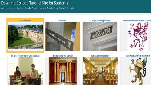 Moodle - Tutorial Site for Postgraduate Students