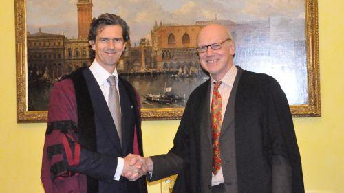Stephen Peel admitted as a Wilkins Fellow