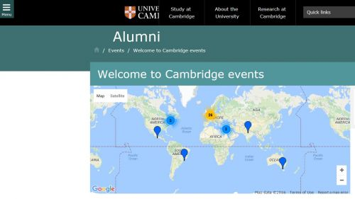 Alumni Pre-Arrival Freshers' Events for Postgraduates